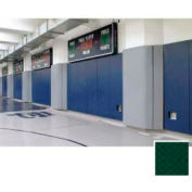 """Mancino Gym Wall Padding Series 700, 24""""W x 84""""L, Z-Clip, Forest Green"""