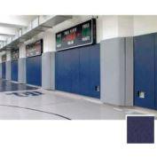 "Mancino Gym Wall Padding Series 700, 24""W x 84""L, Z-Clip, Navy"
