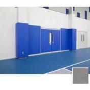 """Mancino Gym Wall Padding Series 820, 24""""W x 60""""L, Nail Margin, Gray"""