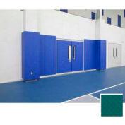 """Mancino Gym Wall Padding Series 820, 24""""W x 60""""L, Nail Margin, Kelly Green"""