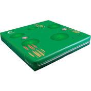 "Mancino Printed Frog Mat 4"" x 29"" x 29"" - GIFROG"