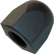 "3/8-16 Hex Acorn Nut - 3/4"" Hex - 3/4"" Height - Steel - Black Oxide - USA - AN-1"