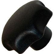 Plastic Hand Knobs - M10x1.5 Thread - 50mm Knob Diameter - 32mm Knob Height - PHK-154 - Pkg Qty 5