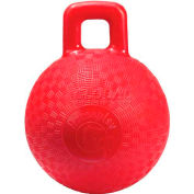 """Little Giant Horse & Dog Playground Ball 160261, Non-Toxic Plastic, 10"""" Dia., Red - Pkg Qty 6"""