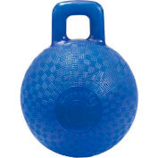 "Little Giant Horse & Dog Playground Ball 160407, Non-Toxic Plastic, 8"" Dia., Blue - Pkg Qty 6"