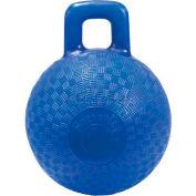 "Little Giant Horse & Dog Playground Ball 160407, Non-Toxic Plastic, 8"" Dia., Blue - Pkg Qty 6"