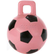 "Little Giant Horse & Dog Soccer Ball 160421, Non-Toxic Plastic, 8"" Dia., Pink - Pkg Qty 6"