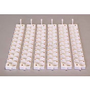 Little Giant 6 Quail Rails 6302, Use For 6300 Automatic Egg Turner