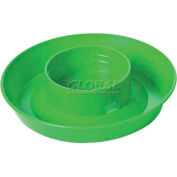 Little Giant Screw-On Base For 1-Qt Poultry Waterer, Fits 690 Jar 740limegreen, - Pkg Qty 36