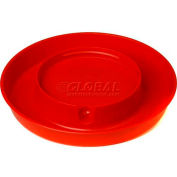 Little Giant Screw-On Base For 1-Gal Poultry Waterer & Fits 690 Jar 750, Red - Pkg Qty 12