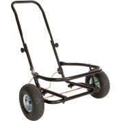 Little Giant All-Purpose Two-Wheel Muck Cart CA500, Pneumatic Tires
