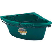 Little Giant Feeder Tub Mounting Ring CF1, Plastic W/Black-Coated Steel, 26 Qt.