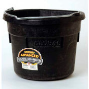 Miller Mfg. DF18FB Rubber Flat Back Bucket