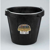 Little Giant All-Purpose Pail Dfp18, Duraflex Rubber, 18 Qt., Black - Pkg Qty 12