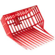 Little Giant DuraPitch 1 Stall Fork Head DP101RED, Polycarbonate Nylon, Red