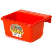Little Giant Mini Feeder Mf6red, Duraflex Plastic, 6 Qt., Red - Pkg Qty 6