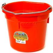 Miller Mfg. P20FBRED Flat Back Bucket