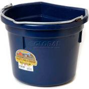 Little Giant Flat-Back Bucket P22fbnavy, Duraflex Plastic, 22 Qt., Navy Blue - Pkg Qty 12