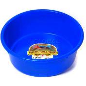 Little Giant Utility Feed Pan P5blue, Duraflex Plastic, 5 Qt., Blue - Pkg Qty 24