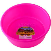 Little Giant Utility Feed Pan P5hotpink, Duraflex Plastic, 5 Qt., Hot Pink - Pkg Qty 24