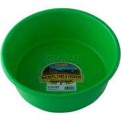 Little Giant Utility Feed Pan P5limegreen, Duraflex Plastic, 5 Qt., Lime Green - Pkg Qty 24