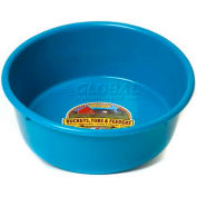 Little Giant Utility Feed Pan P5teal, Duraflex Plastic, 5 Qt., Teal - Pkg Qty 24