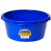 Little Giant All-Purpose Tub P65blue, Duraflex Plastic, 6.5 Gal., Blue - Pkg Qty 6