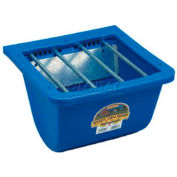 Little Giant Foal Feeder PF25, Carbon Steel Bars & Plastic, 9 Qt., Blue
