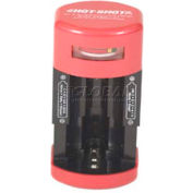Hot-Shot Battery Tester R104, Tests AA, AAA, C, D, & 9-Volt Batteries
