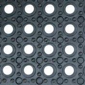 "Little Giant Trak-Safe Interlocking Mat RMIL3636, Non-Porous & Anti-Slip, 36""L X 36""W X 19/32""H"