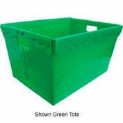 Corrugated Plastic Nestable Tote, 2 x17-1/2x13, Gray (Min. Purchase Qty 48+)