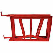 Fire Hose Standard Hump Rack - For 2-1/2 In. Diameter - 50 Ft Capacity - Steel