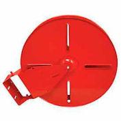 Heavy Duty Fire Hose Reel - 1-1/2 In. Diameter - 100 Ft Capacity - Steel