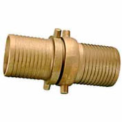 Fire Hose Short Shank Coupling Set - 4 In. NPSH - Aluminum