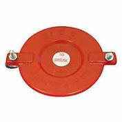Fire Hose Breakable Cap - 2-1/2 In. - Plastic