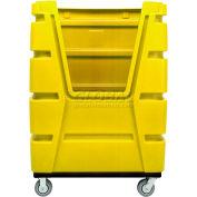 MODRoto Bright Lemon Yellow Hopper Front 72S Poly-Trux® 48 Cu. Ft.