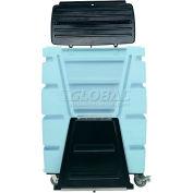 MODRoto Powder Blue Hopper Front Security 72S Poly-Trux® 48 Cu. Ft.