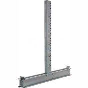 "Modern Equipment DU8130-NS Cantilever Rack Double Sided Upright (3000 Series) 130""W x 8'H"