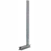 "Modern Equipment U1249-NS Cantilever Rack Single Sided Upright (3000 Series) 49""W x 12'H"