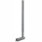 "Modern Equipment U1274 Cantilever Rack Single Sided Upright (3000-5000 Series),74""D x 12'H"