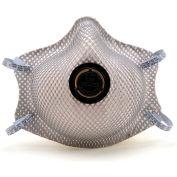 Moldex 2400N95 2400 Series N95 Particulate Respirators Plus Nuisance OV/Ozone Relief, 10/Bag