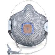 Moldex 2740R95 2740 Series R95 Particulate Respirators with HandyStrap & Ventex Valve, 10/Box