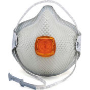 Moldex 2800N95 2800 Series N95 Particulate Respirators with HandyStrap, Medium/Large, 10/Box