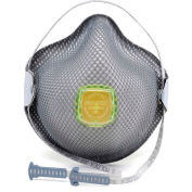 Moldex 2840R95 2840 Series R95 Particulate Respirators with HandyStrap, Medium/Large, 10/Box