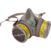 Moldex 8603 8000 Series Multi-Gas/Vapor Smart® Cartridge Assembled Respirator, Large, 1/Pack