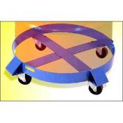 "Morse® Model 14 Round Drum Dolly 23"" Diameter 1000 Lb. Capacity"