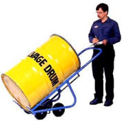 Morse® 4-Wheel Self-Standing Drum Truck Model 160 1000 Lb. Capacity