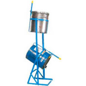 Morse® PailPRO™ Model 2-15 Double 5 Gallon Can Tipper 75 Lb. per Can Capacity