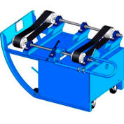Morse® Portable Drum Roller 201B/20-1 - 2 Belts - 20 RPM - 1-Phase 115 Motor