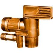 "Morse® Polyethylene Plastic Drum Faucet 68-75 for 3/4"" Bung"